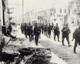 Гродно. Оккупанты на одной из улиц в центре города. 1941 г.