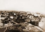 Гродно. Разрушенный центр города. М. Боревич. 1946 г.