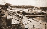 Гродно. Вновь построенный мост. Фото 1908-1909 г.г.