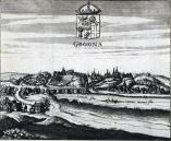 Гравюра Гродно. 1659-1660 Andreas Cellarius