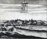 Гравюра Гродно. 1659-1660 Andreas Cellarius