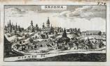 Гродно. С гравюры М. Цюндта. 1567 г.