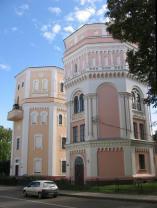 """Водонапорные башни """"Кася"""" и """"Бася"""", Гродно 19 в"""