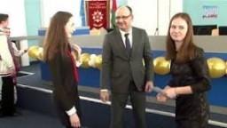 Денежные премии в Гродно вручили победителям школьных олимпиад