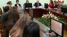 Министр информации в ГрГУ имени Я.Купалы