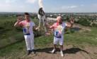 Гродно встретил огонь II Европейских игр