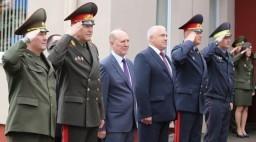 Министр по чрезвычайным ситуациям РБ Владимир Ващенко, председатель облисполкома Владимир Кравцов приняли участие в открытии центра безопасности МЧС в Лиде